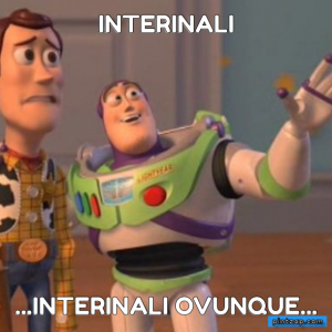 interinali ...interinali ovunque...