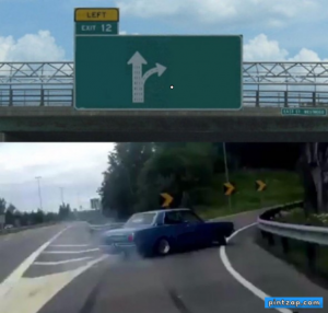 Hacer Meme de Left Exit 12 Off Ramp