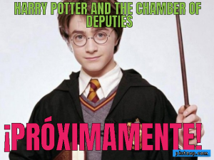 Harry Potter and the Chamber of Deputies ¡Próximamente!