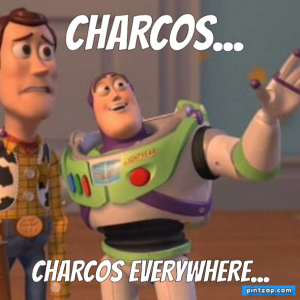 Charcos... Charcos everywhere...