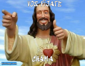 Vos fíjate Chama