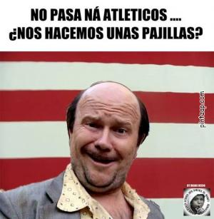 No pasa ná atleticos...