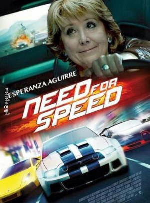 Esperanza Aguirre Need for speed