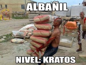 Albañil nivel Kratos