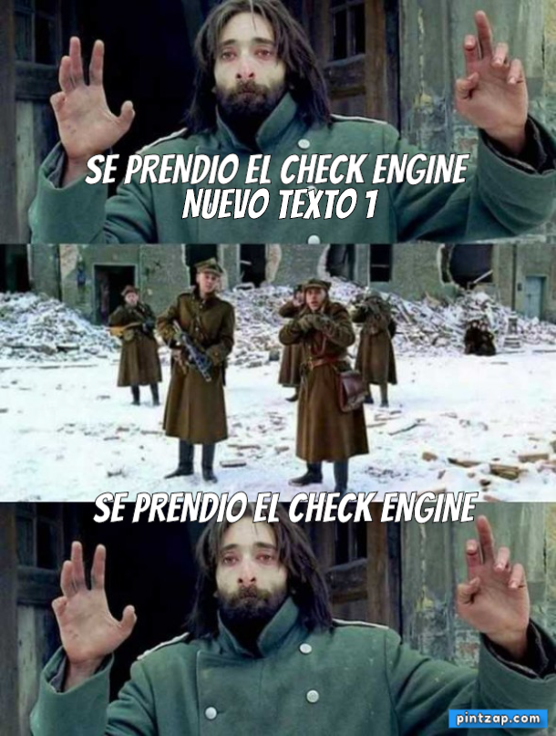 Se prendio el check engine Se prendio el check engine