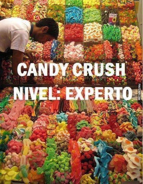 Candy Crush nivel experto