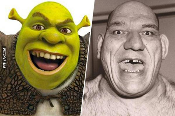 Parecidos razonables, Shrek.